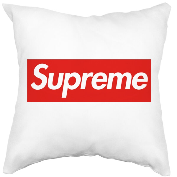 Подушка белая Supreme