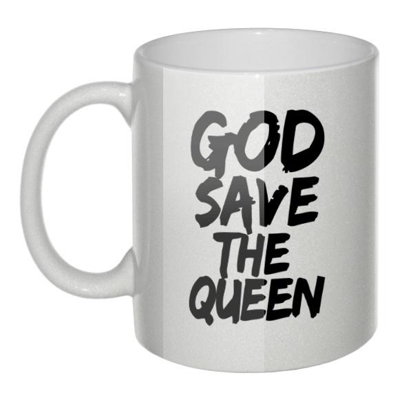 Перламутровая кружка God Save the Queen