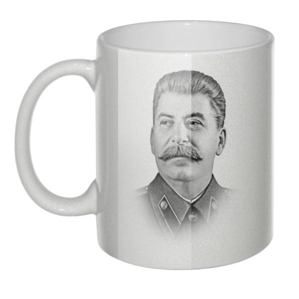 Перламутровая кружка Сталин