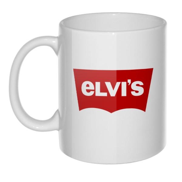 Кружка Elvis vs Levis
