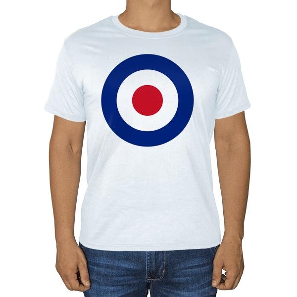 Белая футболка Эмблема ВВС Великобритании