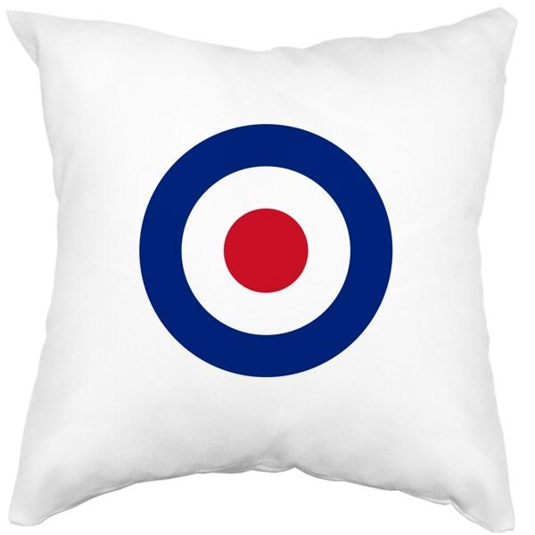 Подушка белая Эмблема ВВС Великобритании
