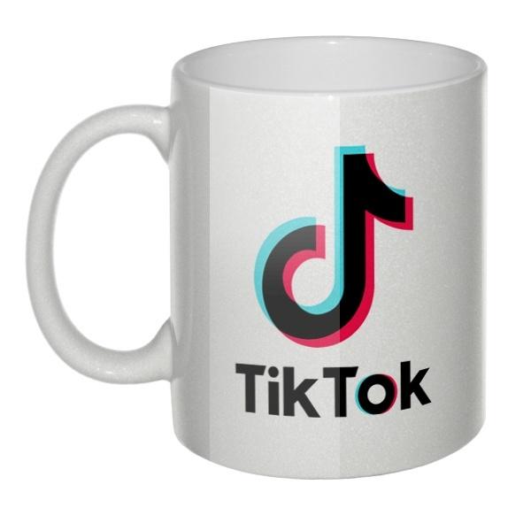 Перламутровая кружка Tik Tok (Тик Ток)