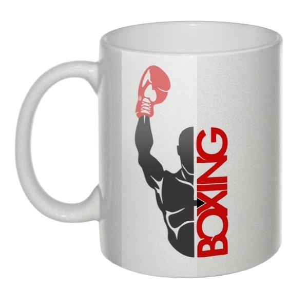 Перламутровая кружка Boxing