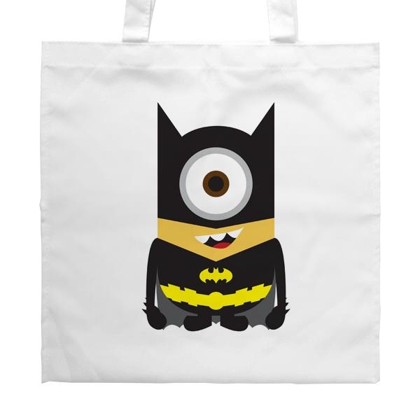 Белая сумка Batman Minion
