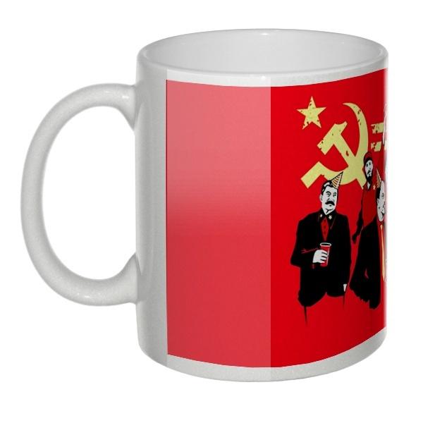 Перламутровая кружка Communism party (Коммунизм Пати)