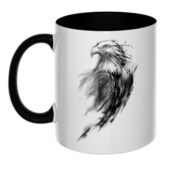 Орел, кружка цветная внутри и ручка