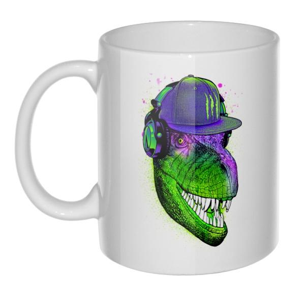 Кружка Модный динозавр