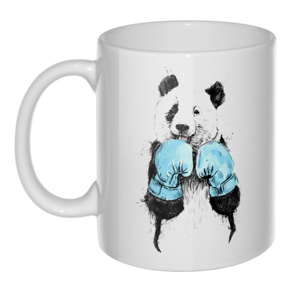 Кружка Панда-боксер