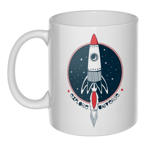 Кружка Ракета Explore Universe
