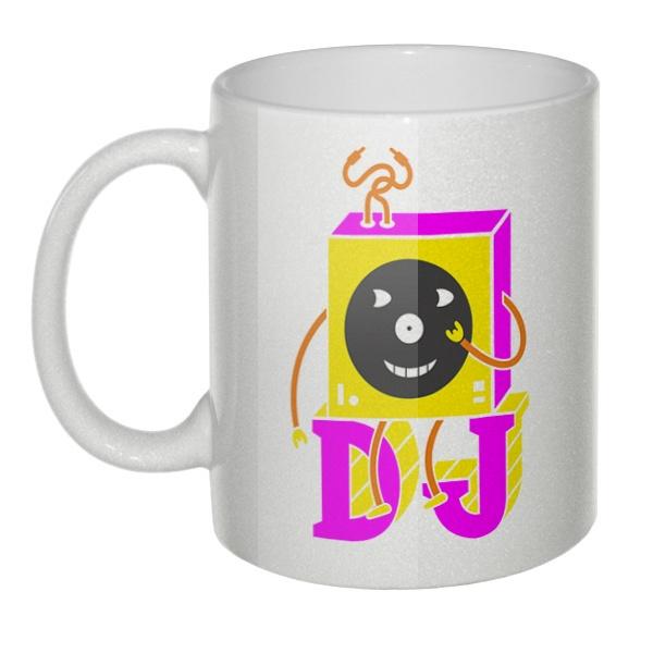 Кружка перламутровая DJ