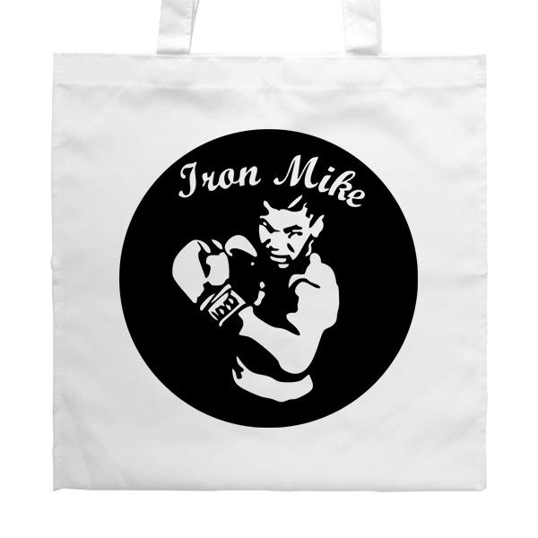 Белая сумка Iron Mike