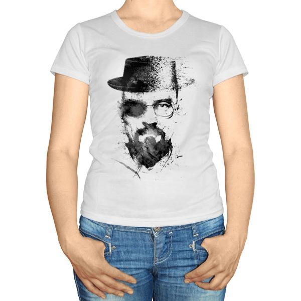 Женская футболка Уолтер Уайт
