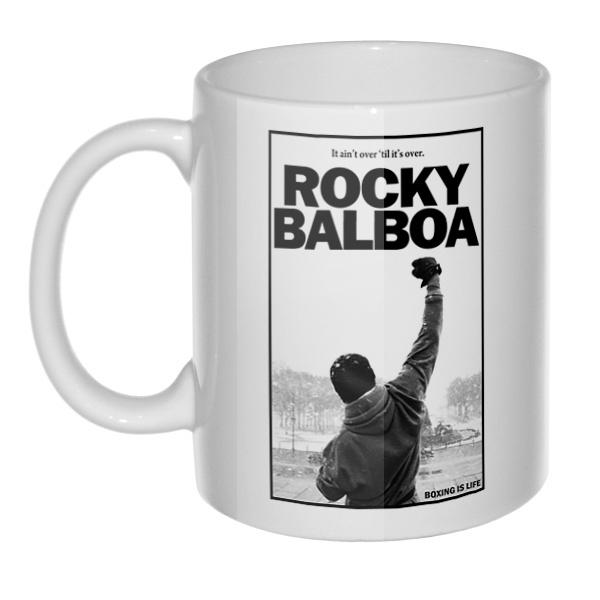 Кружка Rocky Balboa