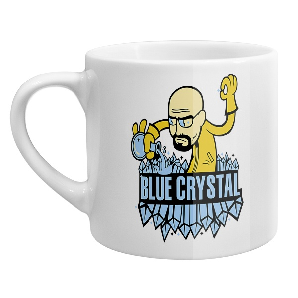 Кофейная чашка Blue crystal