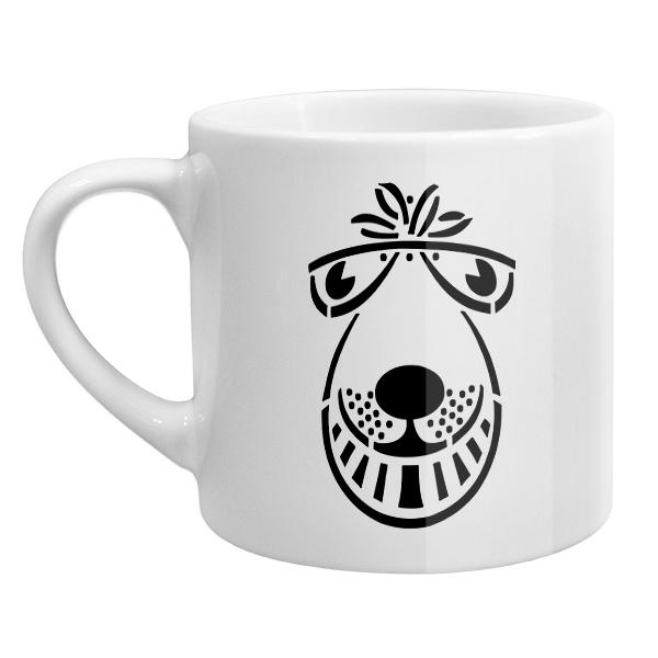 Кофейная чашка Мордочка