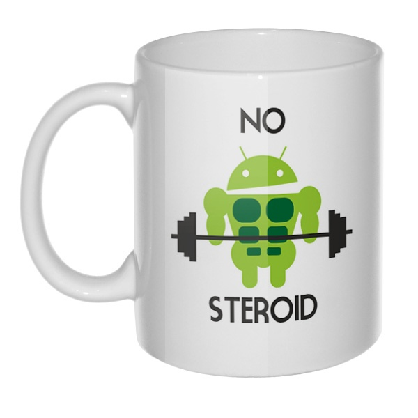 Кружка No steroid
