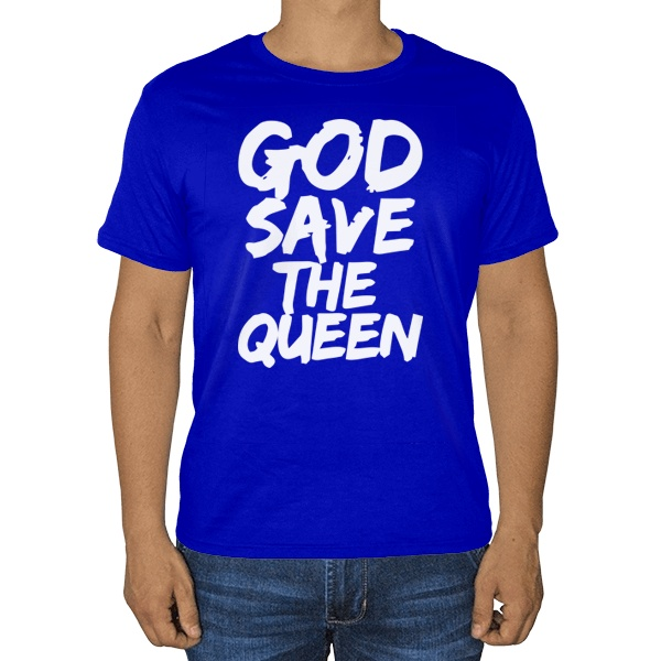 Футболка God Save the Queen