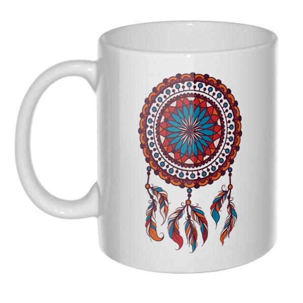 Кружка Индейский амулет Ловец снов