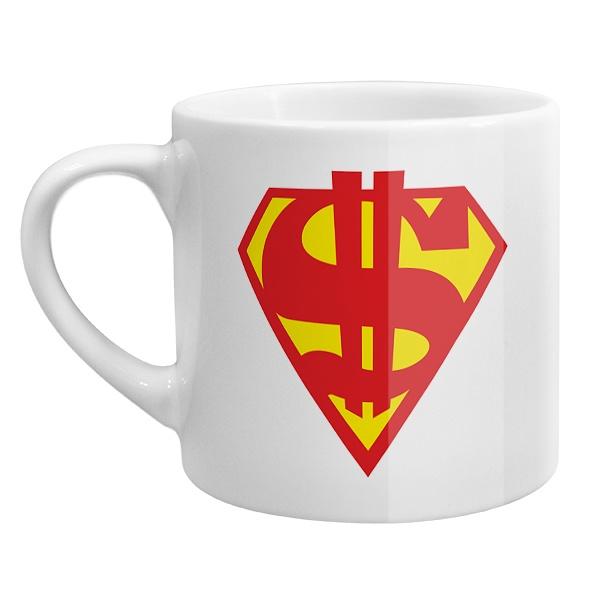 Кофейная чашка Супер доллар
