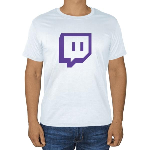 Белая футболка Twitch
