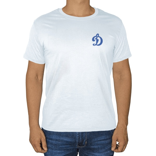 Белая футболка Динамо