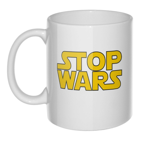 Кружка Stop Wars