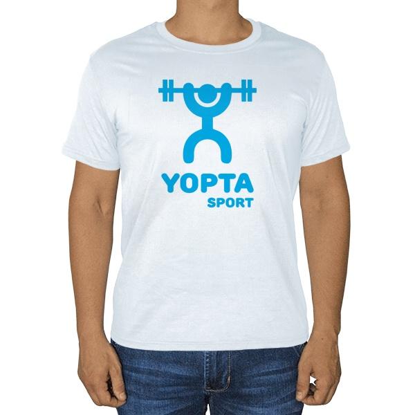 Yopta Sport, белая футболка