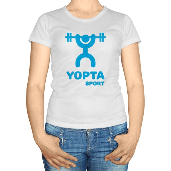 Женская футболка Yopta Sport