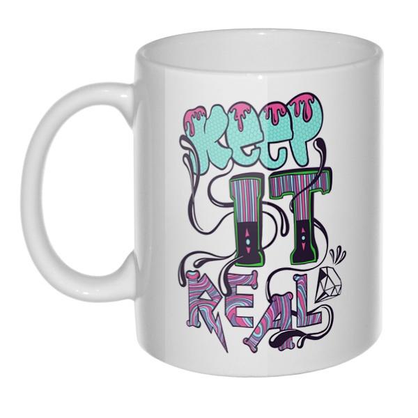 Кружка Keep it real