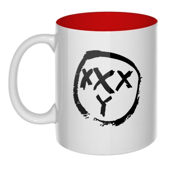 Oxxxymiron, кружка цветная внутри