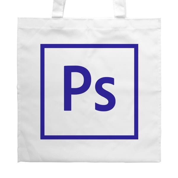 Белая сумка Логотип Фотошоп