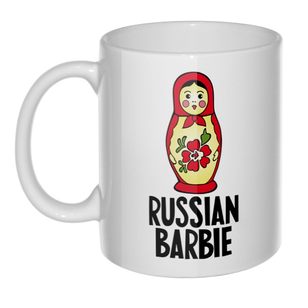 Кружка Russian Barbie