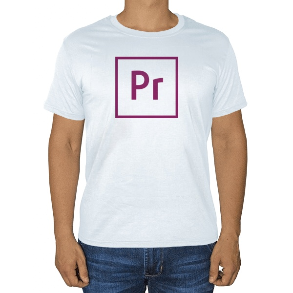 Белая футболка Premiere