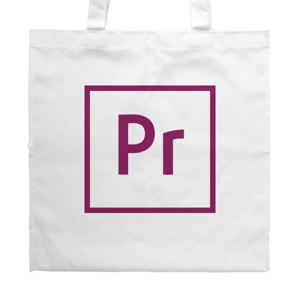 Белая сумка Premiere