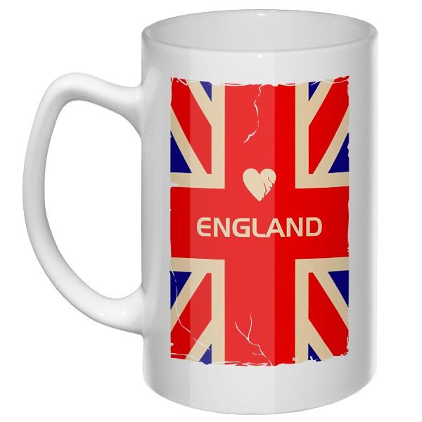 Большая кружка England
