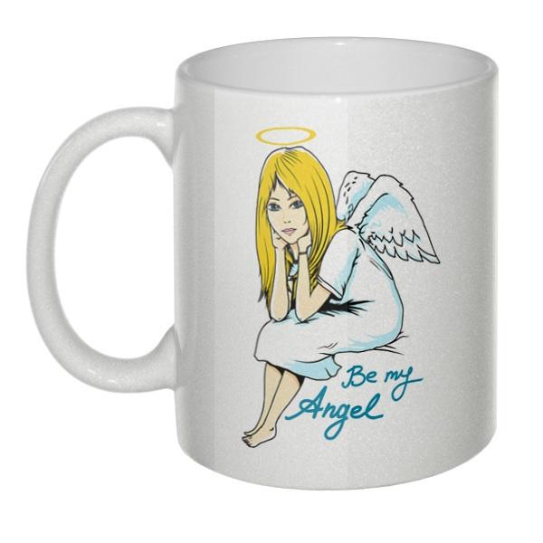 Кружка перламутровая Be my angel