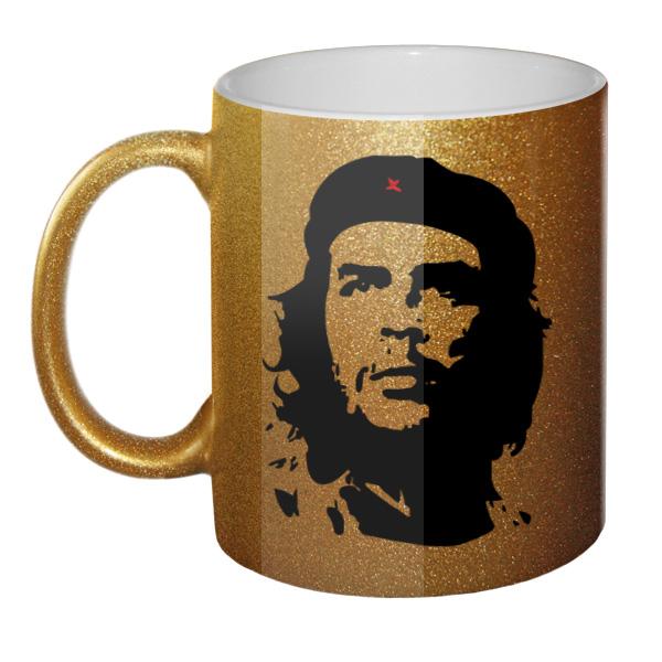 Золотистая кружка Че Гевара