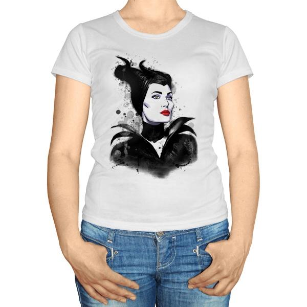 Женская футболка Малефисента