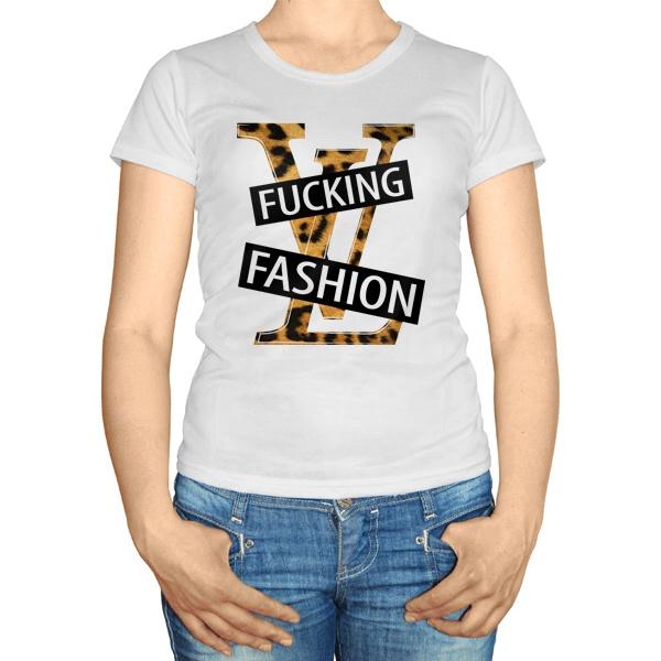 Женская футболка Fucking fashion