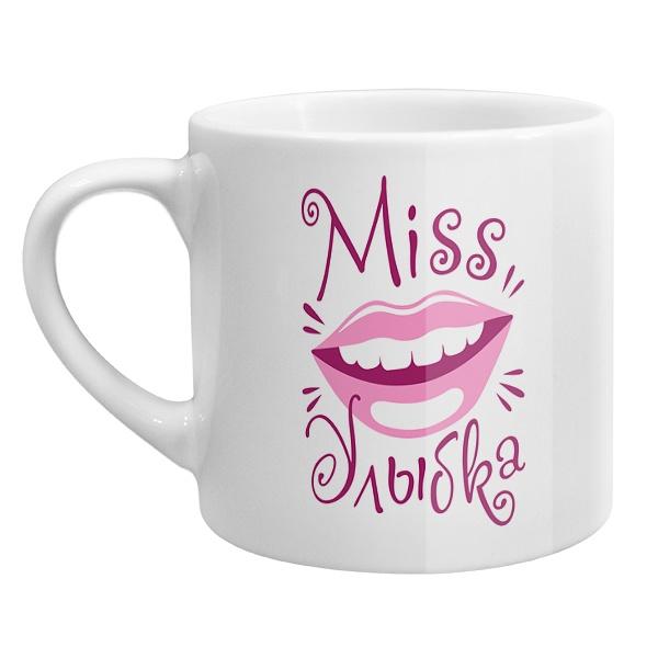 Кофейная чашка Мисс улыбка
