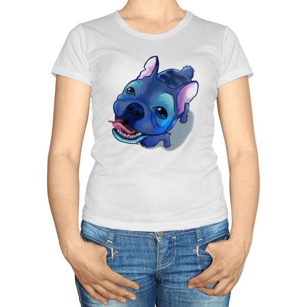 Женская футболка Стич