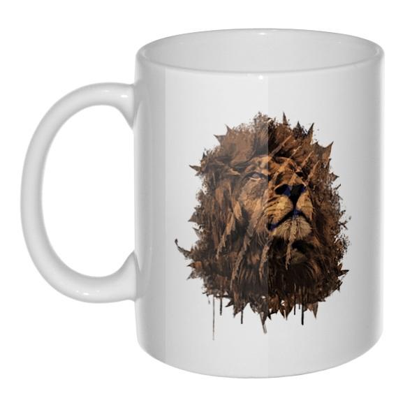 Кружка Царь зверей