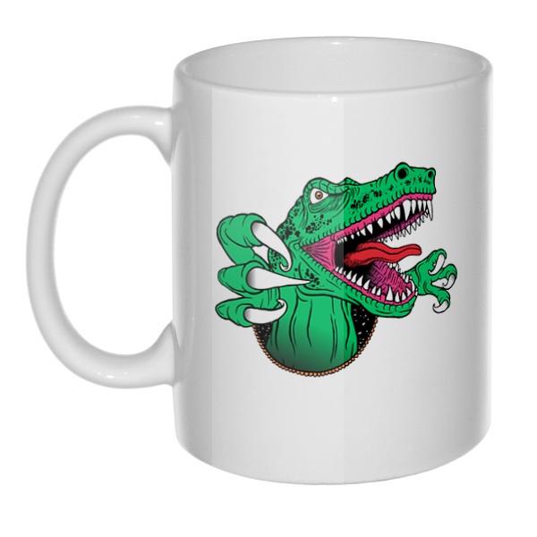 Кружка Крокодил