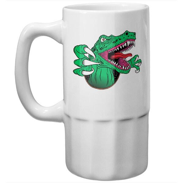 Пивная кружка Крокодил