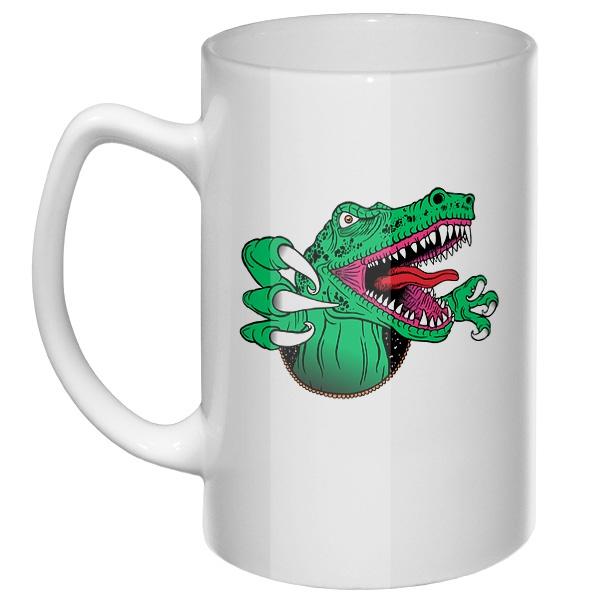 Большая кружка Крокодил